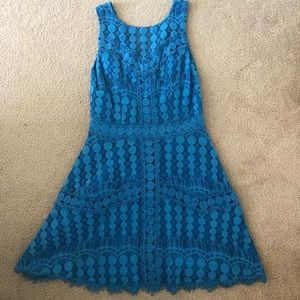 Jewel Blue Cocktail Dress